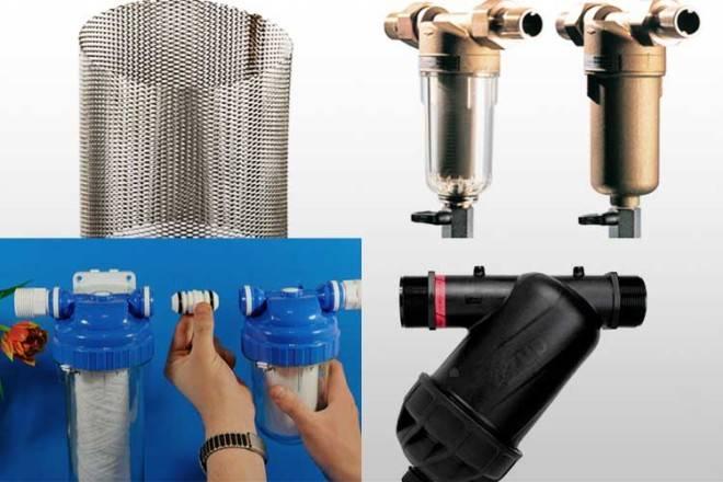 Фильтры грубой и тонкой очистки воды для сантехники: виды, как выбрать и подключить