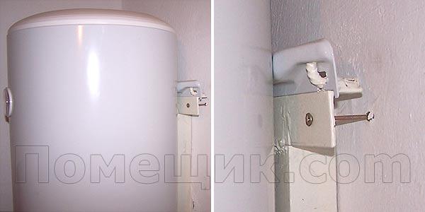 Как установить бойлер своими руками вешаем на стену, подключаем электричество и воду