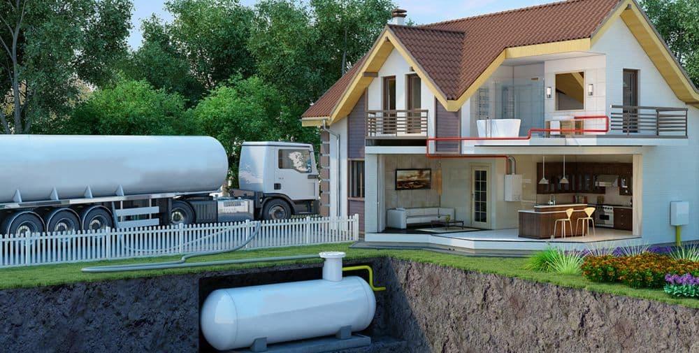 Мобильный газгольдер: назначение, конструкция и особенности монтажа, требования к размещению