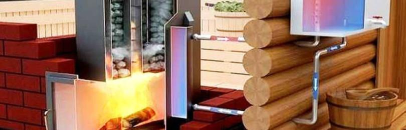 Отопление в бане через теплообменник | всё об отоплении