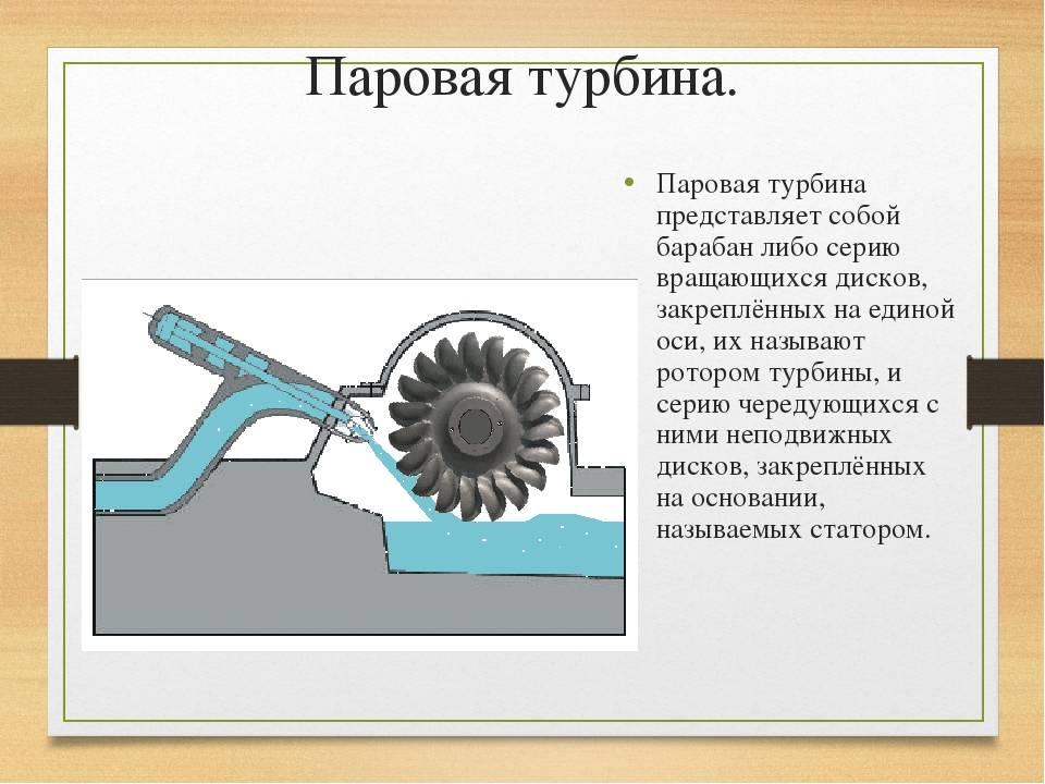 Паровая турбина: устройство, принцип действия, основные элементы