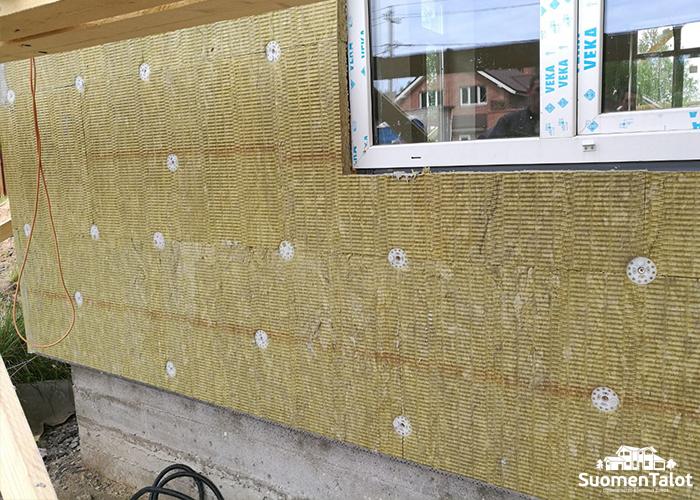 Утепляем стены из керамзитобетона снаружи