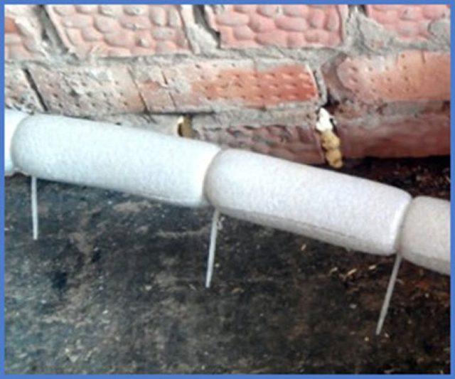 Как утеплить трубы в подвале - видео, инструкция