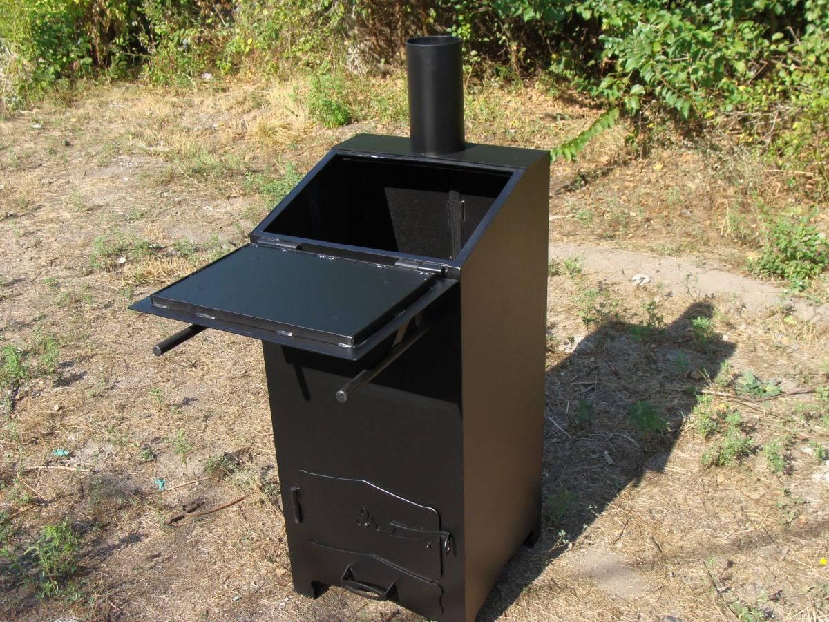Печи для сжигания мусора: полный обзор и разбор вариантов - покупных и своими руками