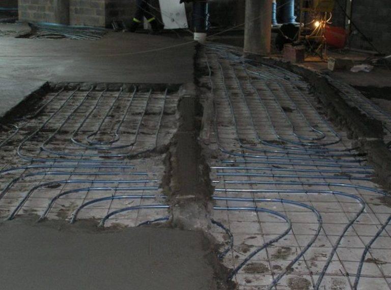 Способы монтажа теплого водяного пола без цементной стяжки