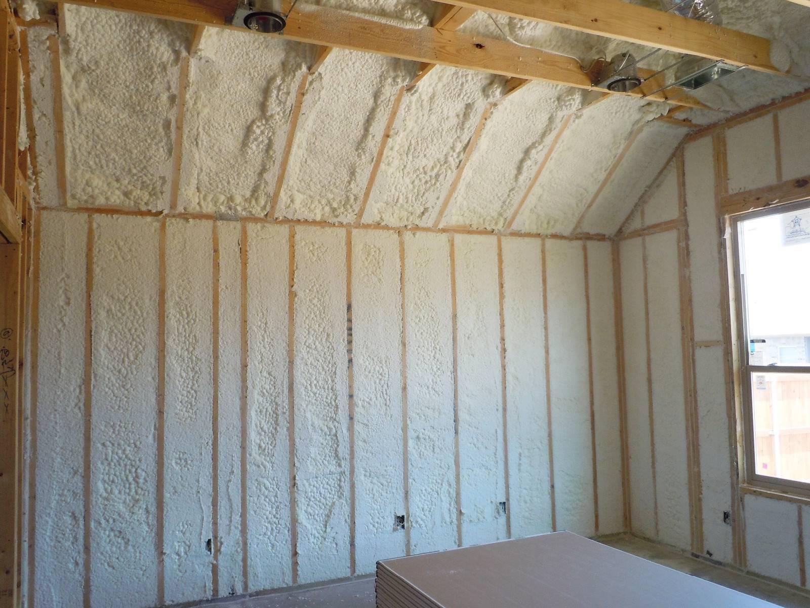 Обшивка и утепление стен гипсокартоном, утепляет ли гипсокартон стену?