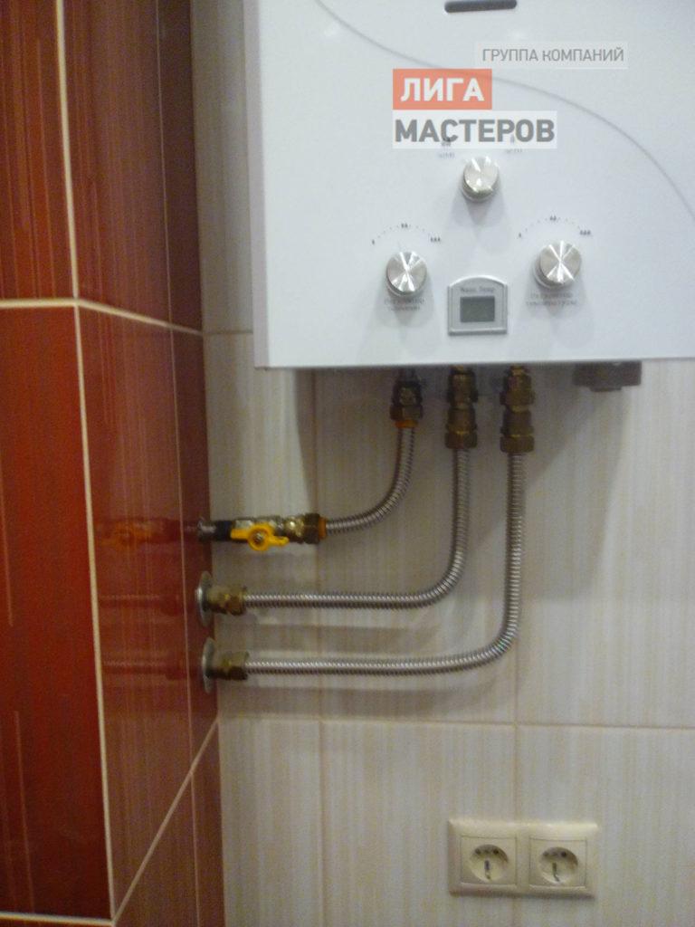 Установка газовой колонки в квартире своими руками: требования и технические нормы для установки