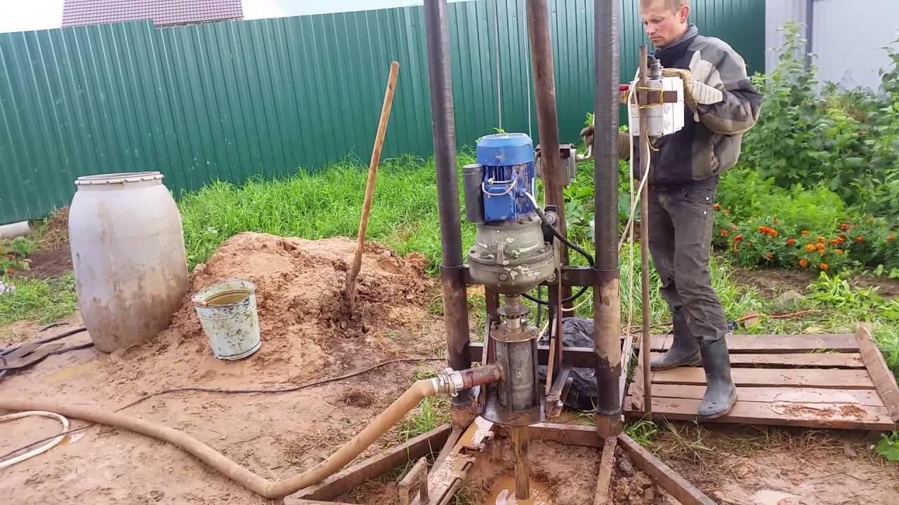 Гидробурение скважин на воду своими руками - как выполнить
