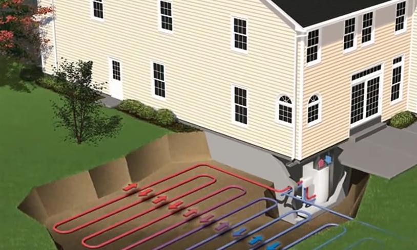 Геотермальное отопление дома – принцип работы, способы установки
