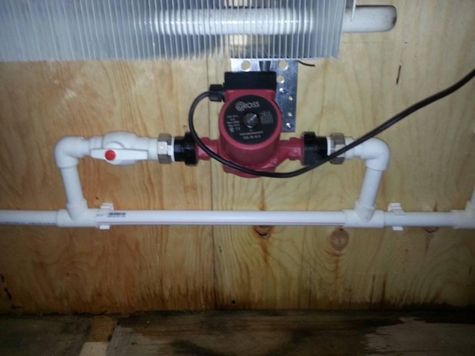 Установка насоса в систему отопления: инструкция и советы