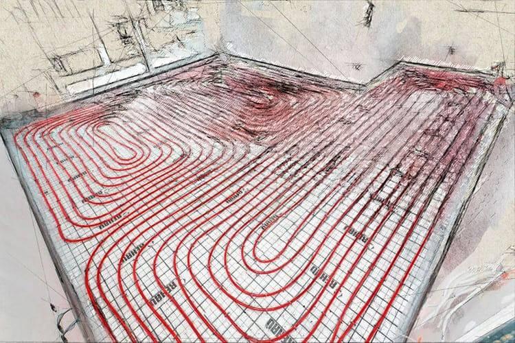 Теплый водяной пол под плитку своими руками монтаж и технология укладки, лучшие производители водяных полов
