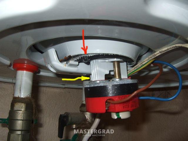 Водонагреватель не греет воду, но индикатор горит
