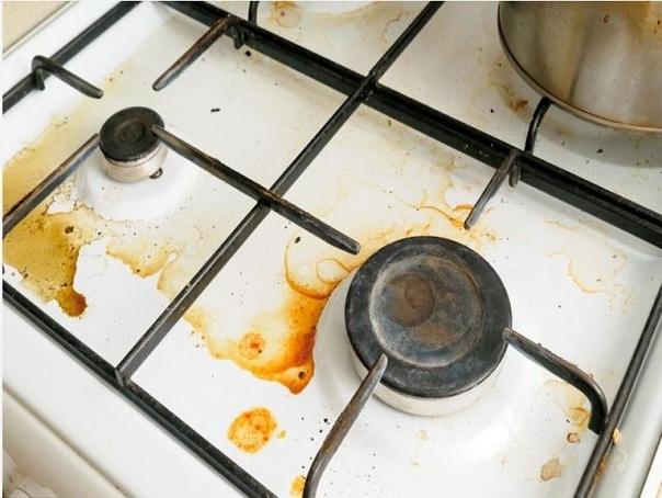 Как отмыть плитку на кухне от жира народными средствами?