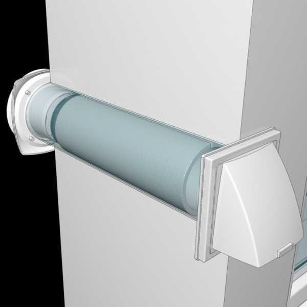 Приточный клапан в стену и его значение - самстрой - строительство, дизайн, архитектура.