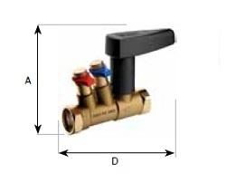 Балансировочные клапана и вентили для систем отопления