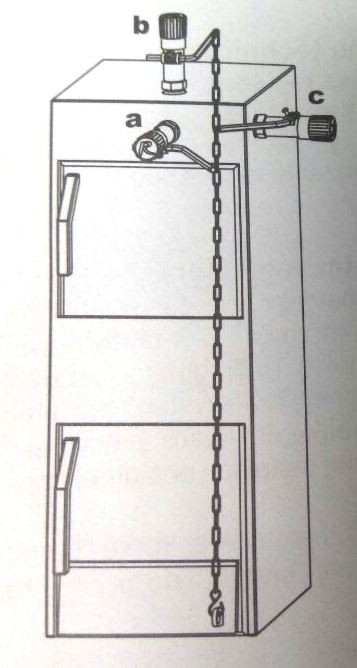 Регулятор тяги для твердотопливных котлов: выбор, установка и настройка своими руками