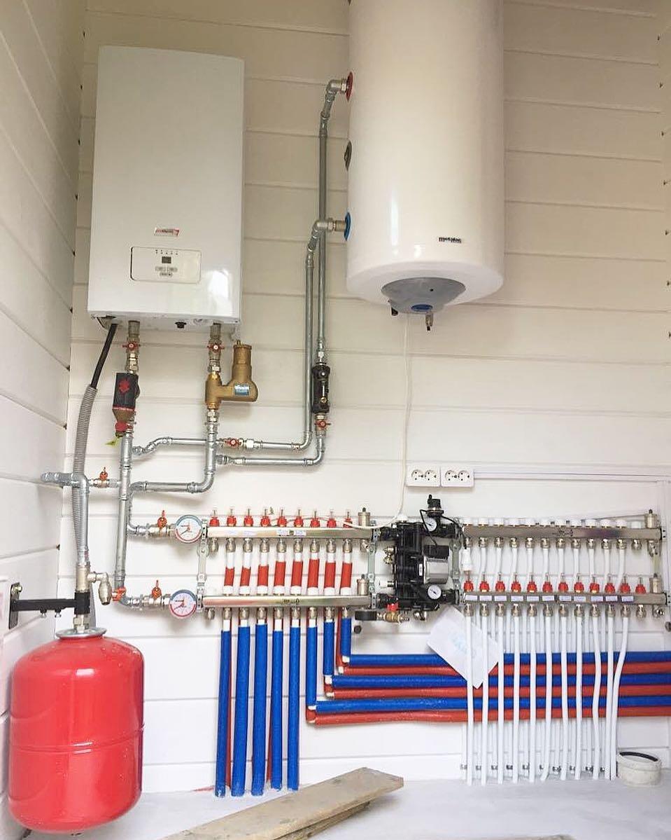 Газовое отопление в частном доме - схема монтажа, подбор характеристик и расчет отопления квадратного метра (105 фото)