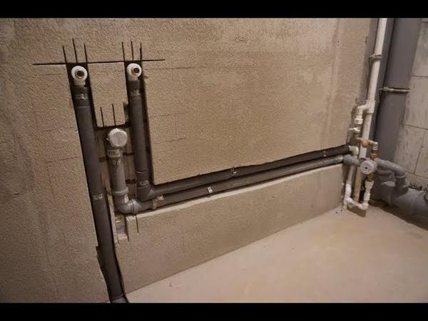 Прячем трубы отопления в стене – плюсы и минусы