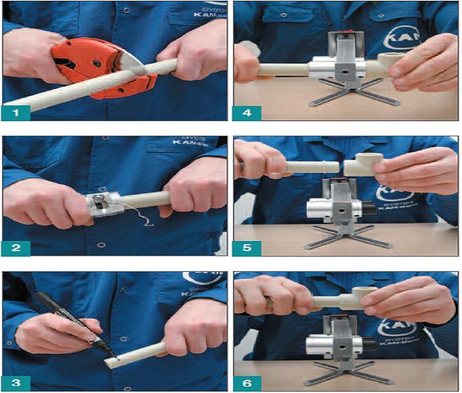 Пайка полипропиленовых труб своими руками подробная инструкция