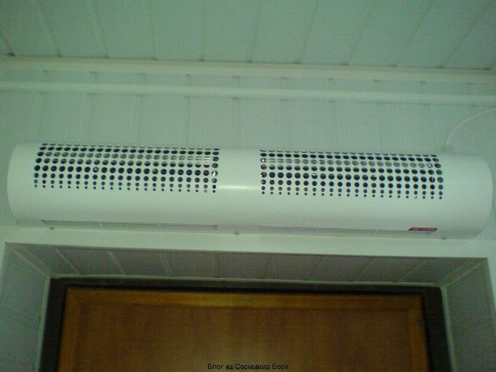 Тепловая завеса на входную дверь: как правильно выбрать, отзывы