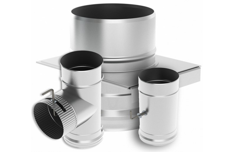 Шибер для дымохода: выбор, виды и установка своими руками
