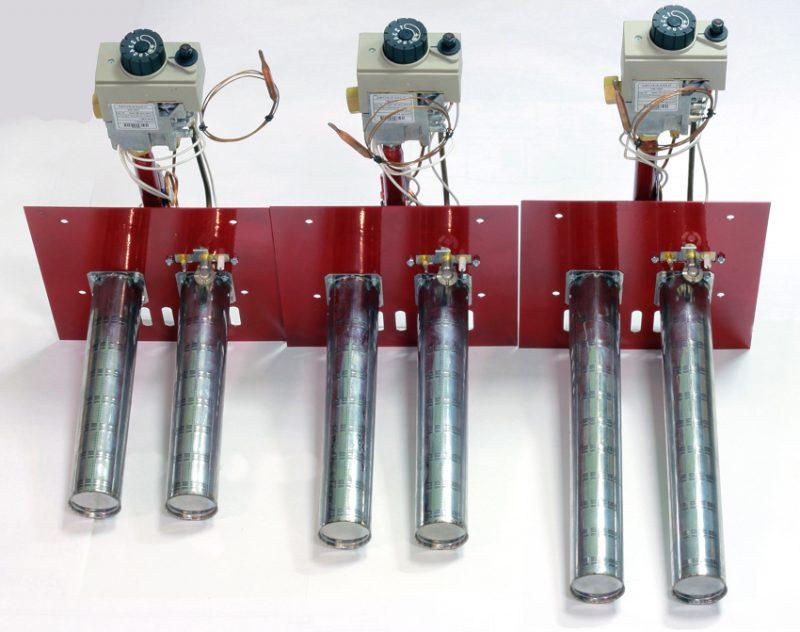 Разновидности горелок для газового котла