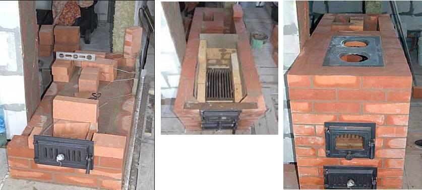 Основные модели кирпичных печей для дома на дровах, их особенности и методы изготовления