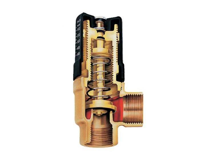 Перепускной клапан системы отопления: основное предназначение и принцип работы