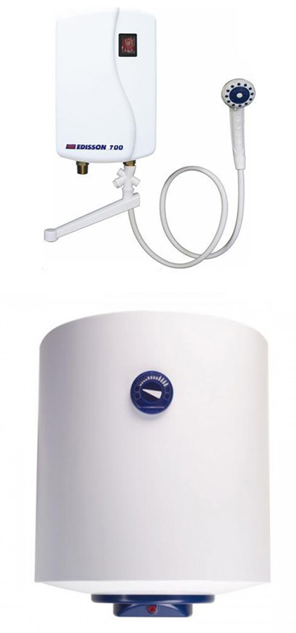 Какие водонагреватели лучше: накопительные или проточные? отличие моделей