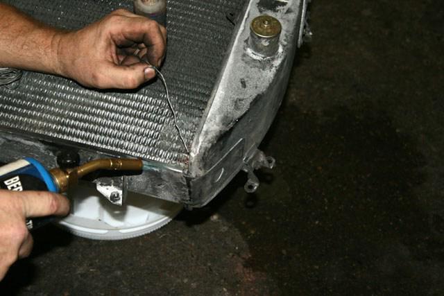 Как запаять алюминиевый радиатор в домашних условиях своими руками