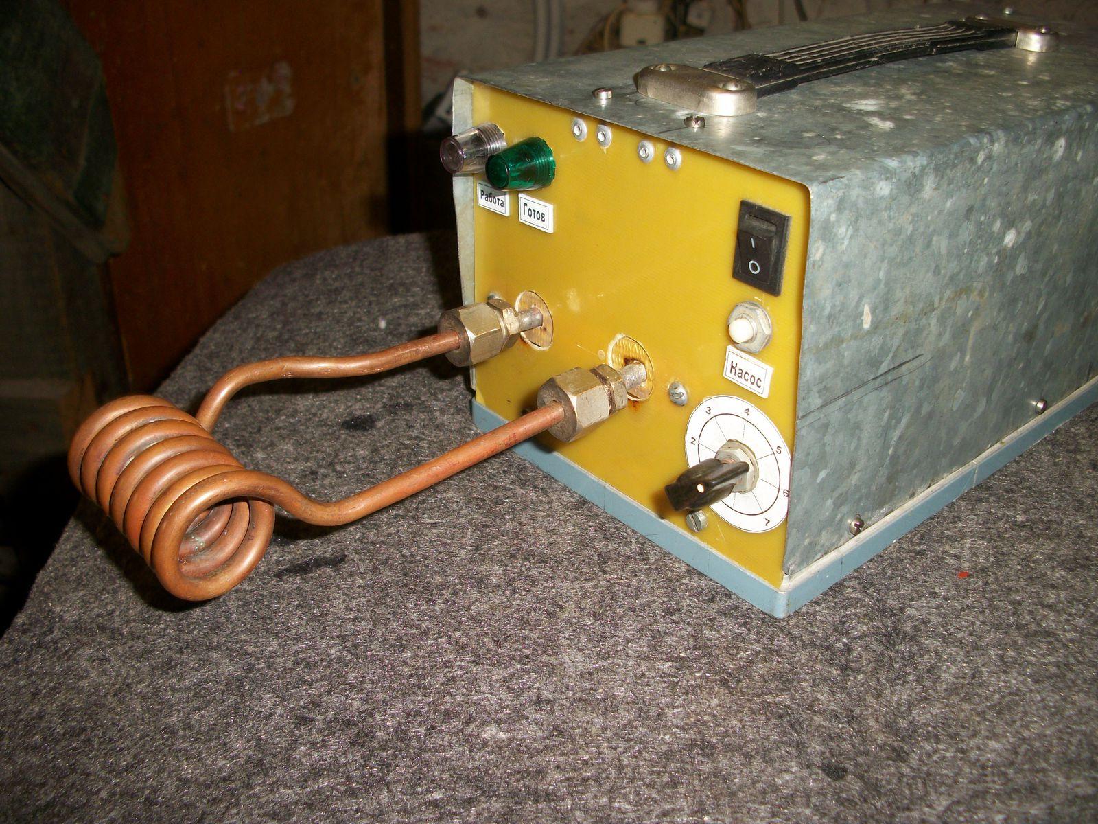 Индукционный нагреватель: схемы самостоятельного изготовления