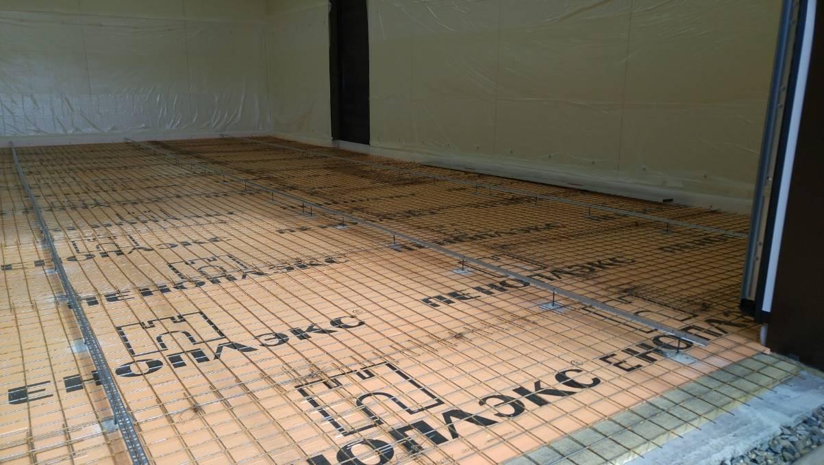 Утепление бетонногопола пеноплексом под стяжкусвоими руками,фото