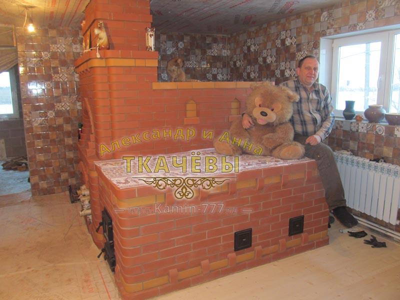Согреет и накормит: русская печь с лежанкой и плитой. инструкция по строительству и фото готовых устройств