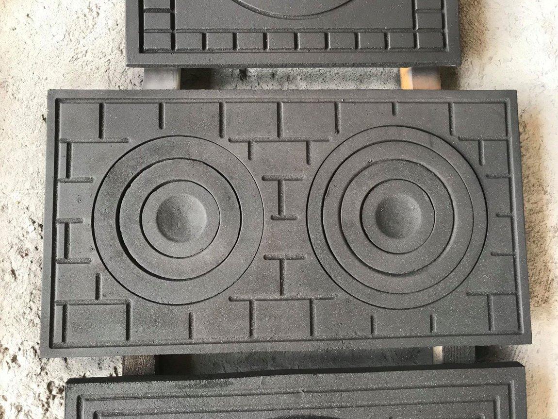 Установка чугунной варочной плиты в печь — строим сами