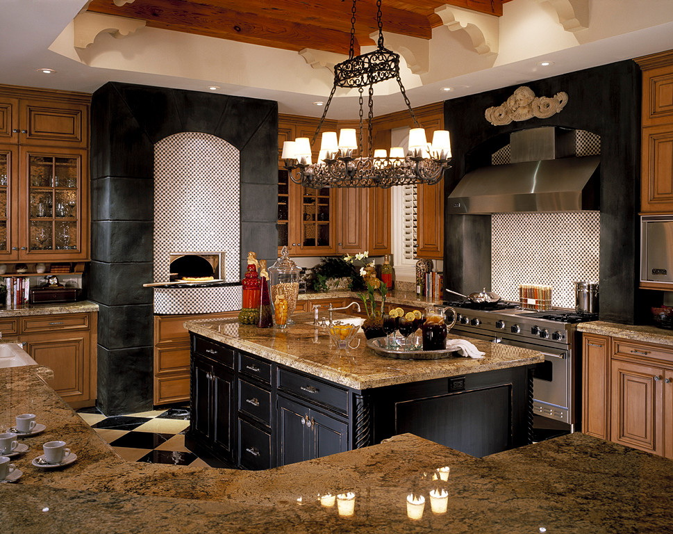 Правила ремонта: кухня с печкой в частном доме, дизайн и стилизация