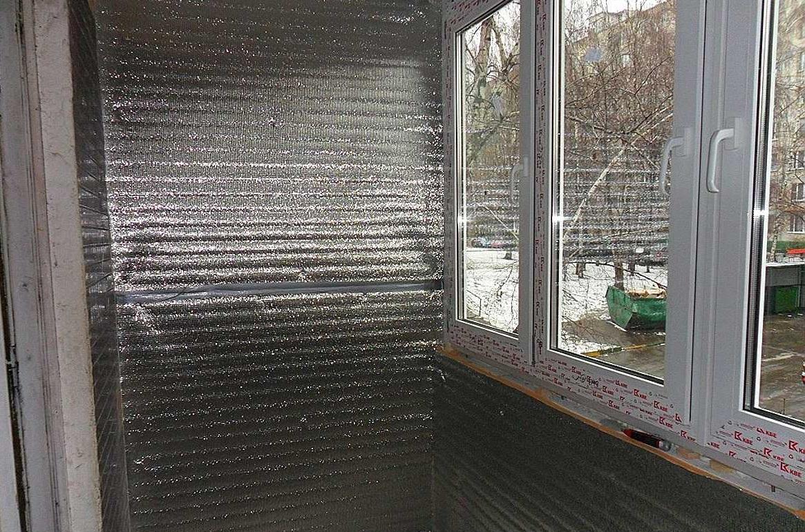 Утепление балкона пенофолом своими руками | тепломонстр