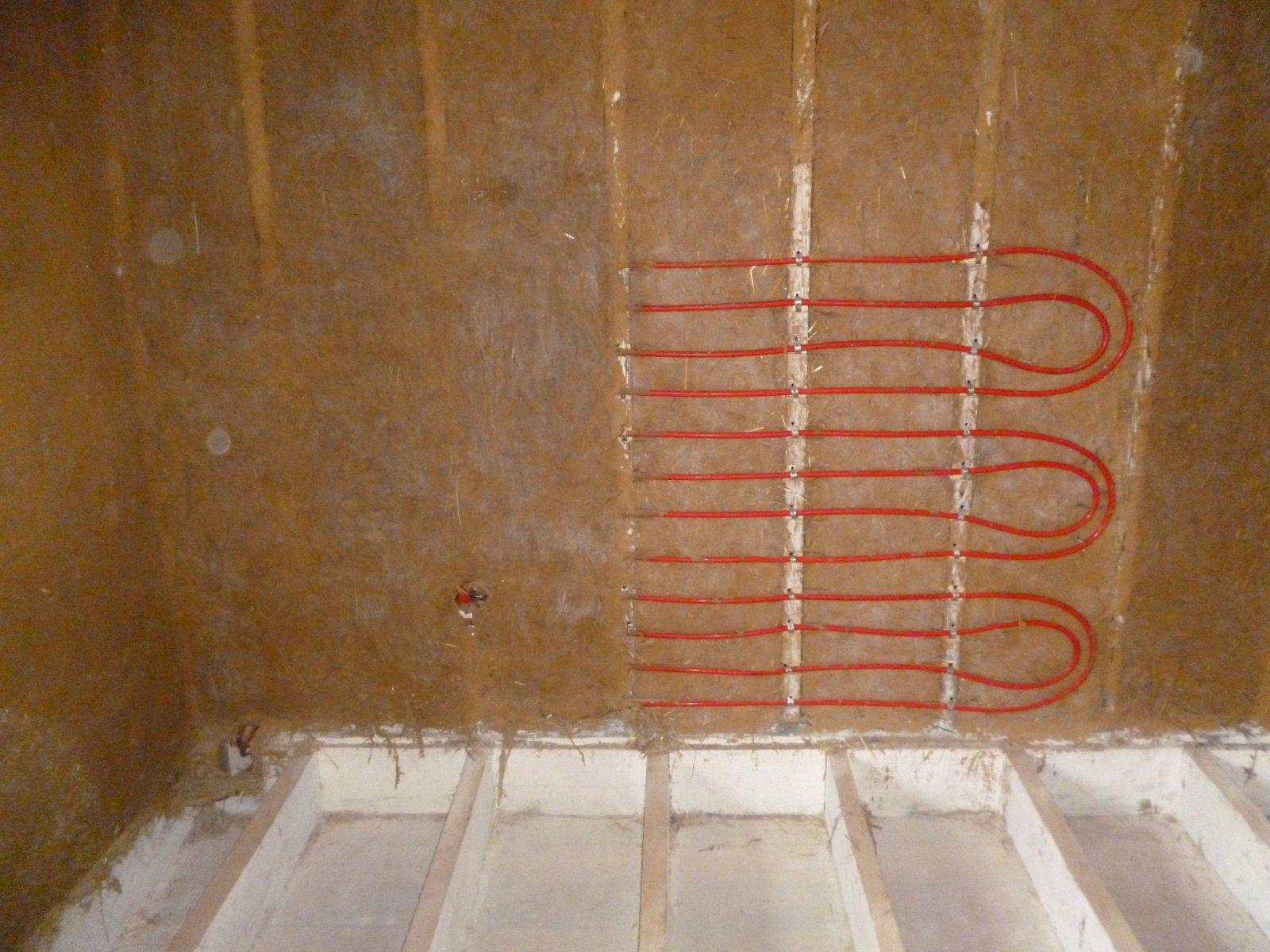 Монтаж водяных тёплых стен своими руками