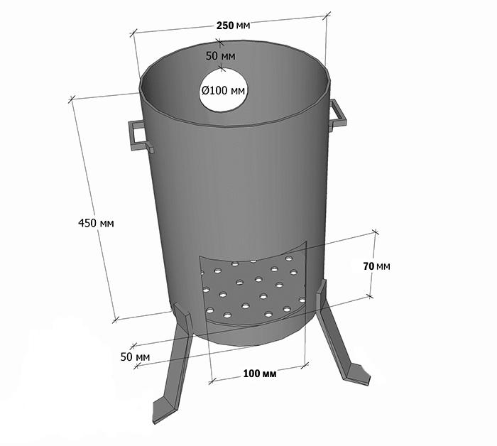 Печь для казана своими руками: как сделать печку для плова из кирпича используя чертежи порядовки