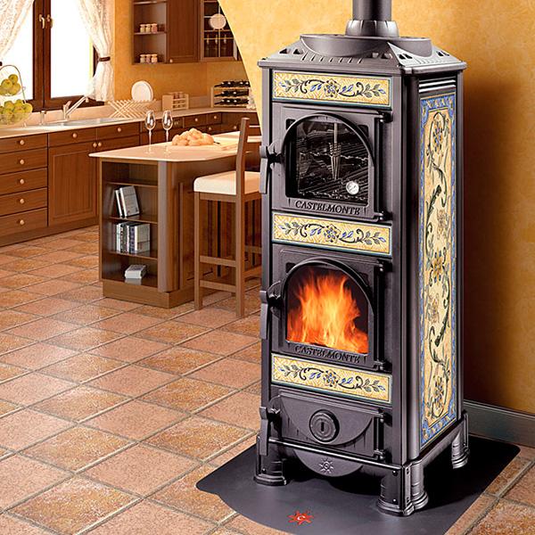 Печь камин угловая для дачи длительного горения, лучшие модели