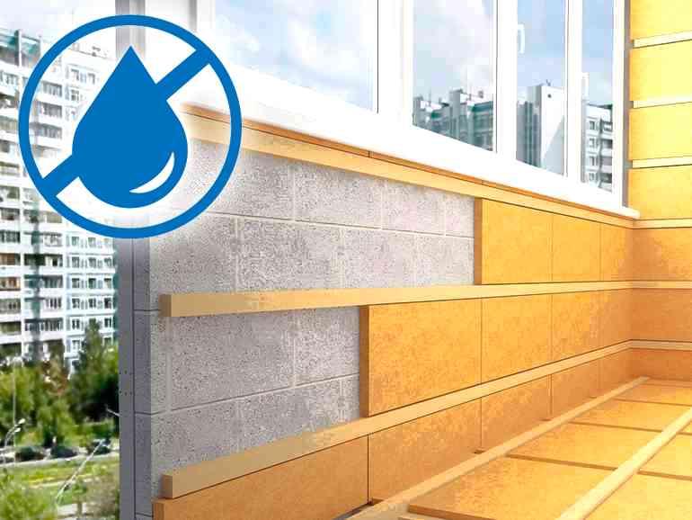 2 способа утепления балкона снаружи - сухим и мокрым способом
