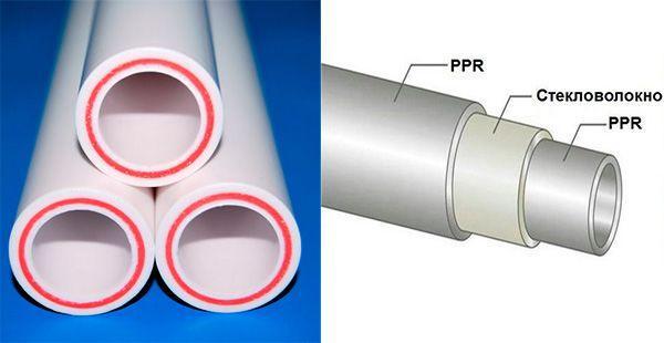 Какой полипропилен лучше армированный стекловолокном или алюминием
