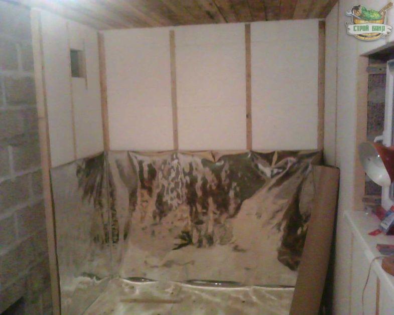 Утепление бани из керамзитобетонных блоков: как правильно утеплить баню изнутри, утепление стен снаружи, фото и видео
