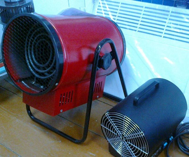 Особенности использования различных видов тепловых пушек для отопления гаража и правила выбора