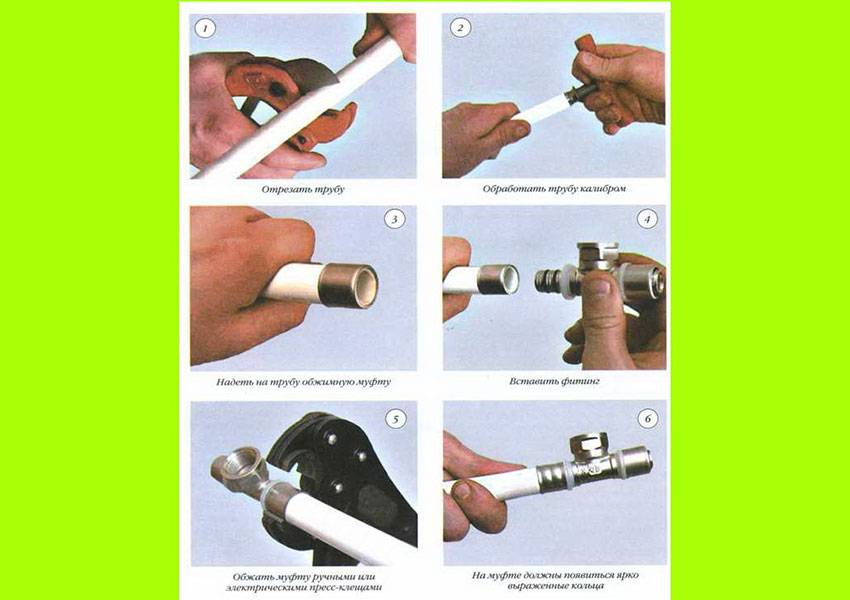 Соединение и монтаж металлопластиковых труб. инструменты