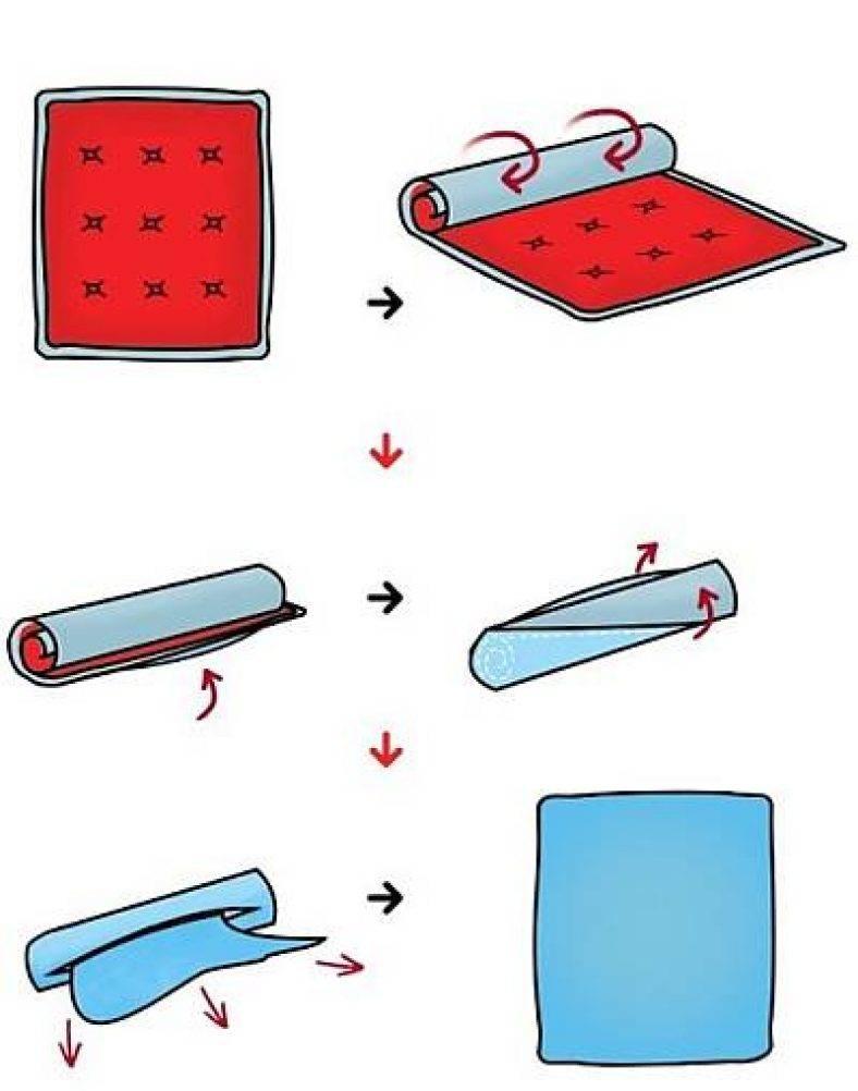 Как быстро одеть пододеяльник на одеяло: 3 способа сделать это легко и правильно, лайфхаки, видео