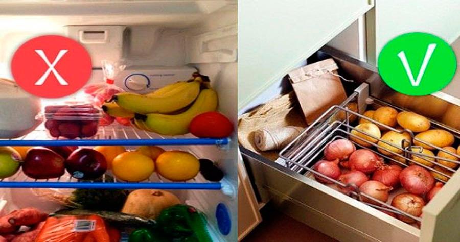 11 продуктов, которые люди часто хранят неправильно