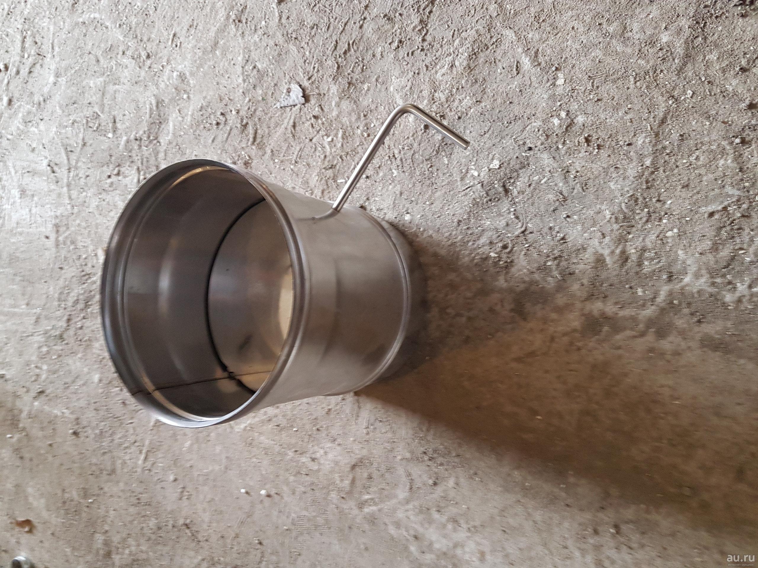 Шибер для дымохода: зачем он нужен и как его сделать своими руками