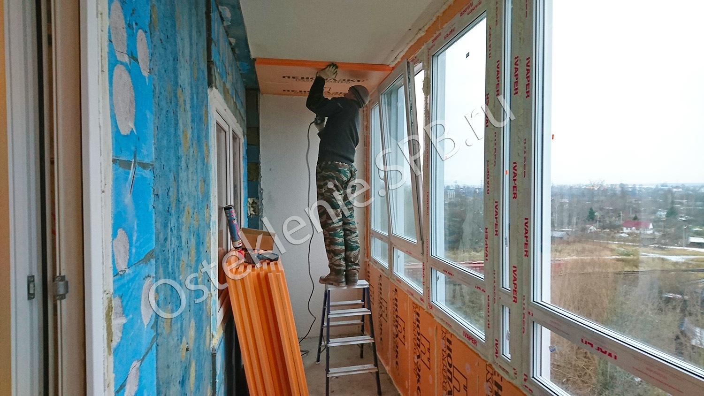 Правила утепления балконов с панорамным остеклением