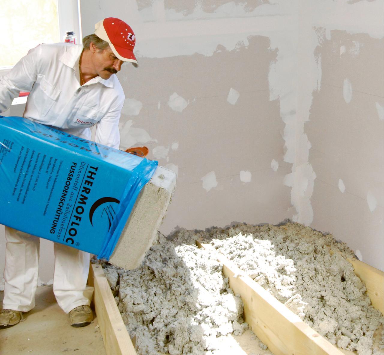 Утепление пола по лагам минеральной ватой и другими материалами