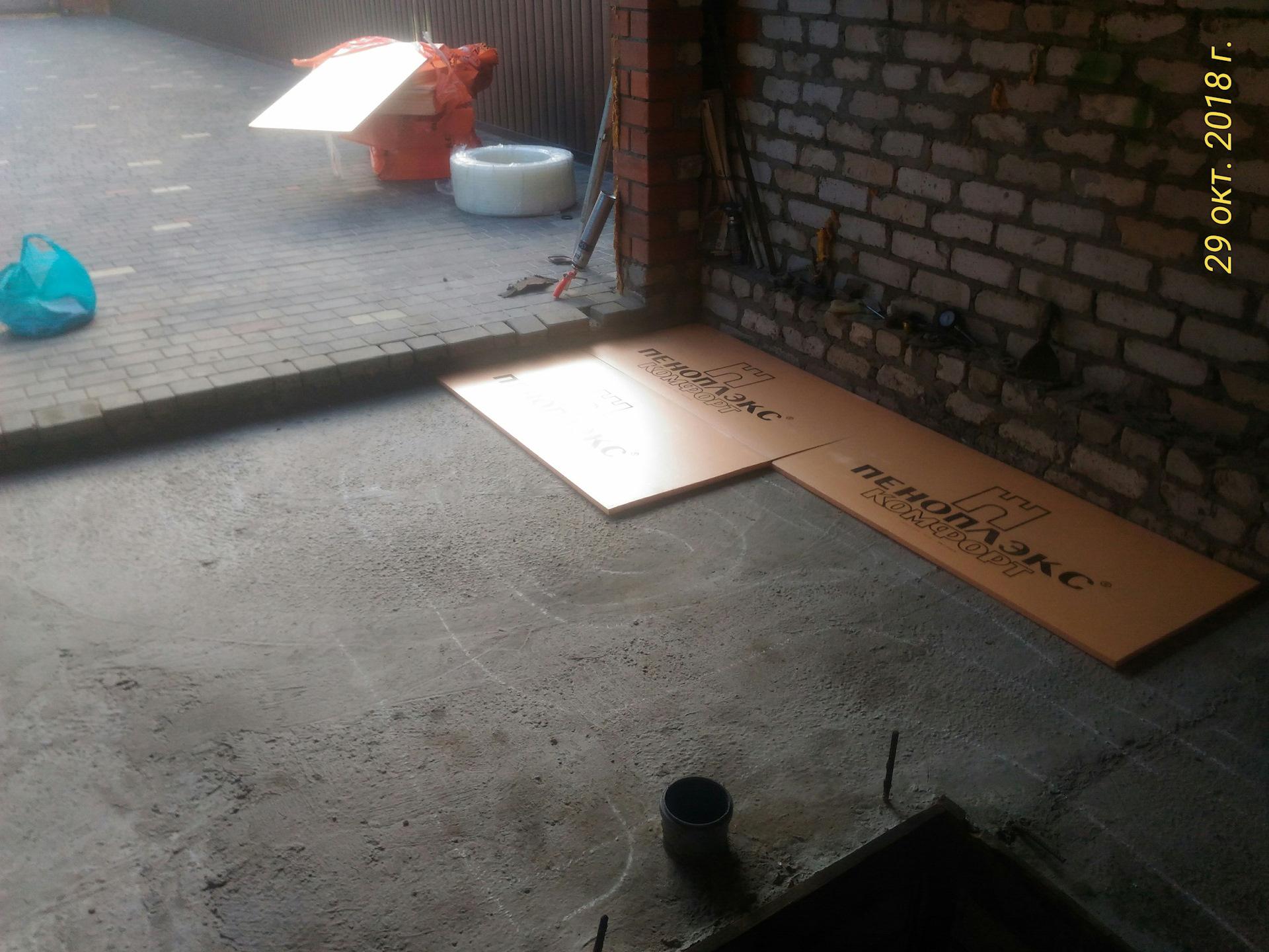 Теплый пол в гараже плюсы и минусы